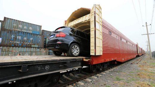 trasporto auto su treno